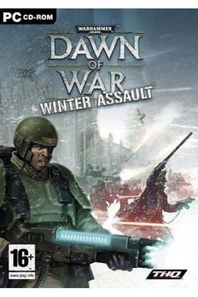 PC CD ROM WARHAMMER DAWN OF WAR WINTER ASSAULT PAL ITALIANO COMPLETO