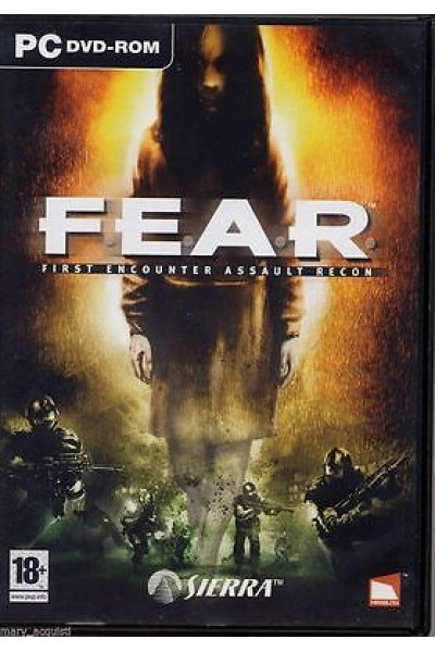 PC PERSONAL COMPUTER F.E.A.R. FEAR FIRST ENCOUNTER ASSAULT RECON PAL ITALIANO
