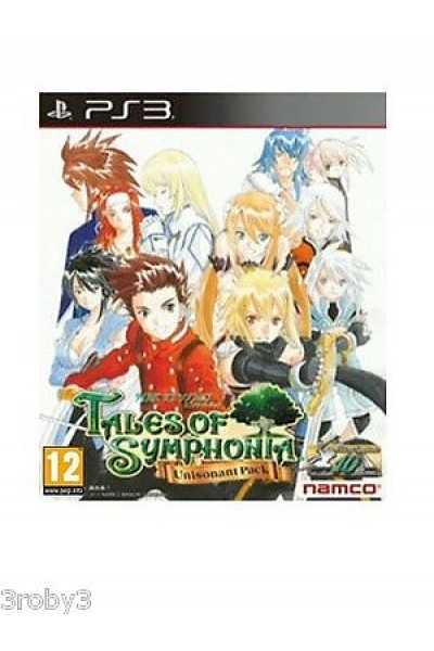PS3 TALES OF SYMPHONIA CHRONICLES PAL MANUALE IN ITALIANO GIOCO IN INGLESE