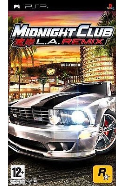 PSP MIDNIGHT CLUB L.A. REMIX PAL ITALIANO SENZA MANUALE