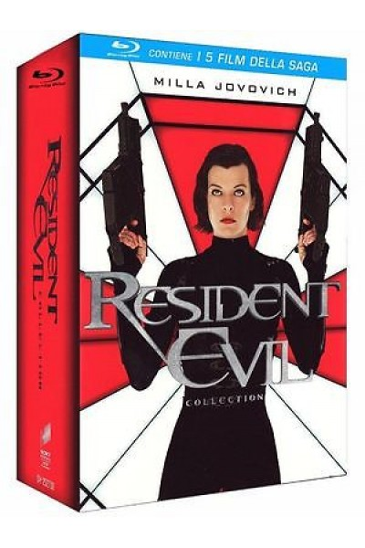 RESIDENT EVIL COLLECTION COFANETTO 5 FILM BLU RAY