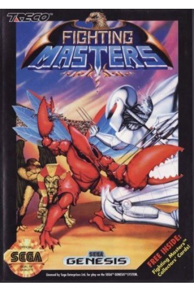 SEGA GENESIS FIGHTING MASTERS NTSC USA SENZA MANUALE