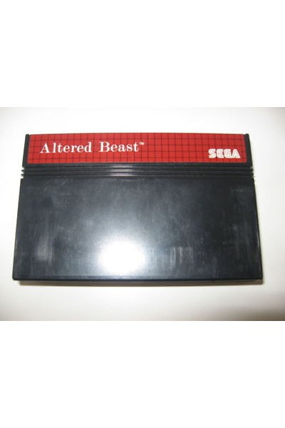 SEGA MASTER SYSTEM ALTERED BEAST SOLO CARTUCCIA LOOSE