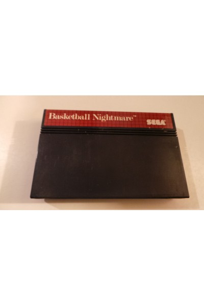 SEGA MASTER SYSTEM BASKETBALL NIGHTMARE SOLO CARTUCCIA LOOSE