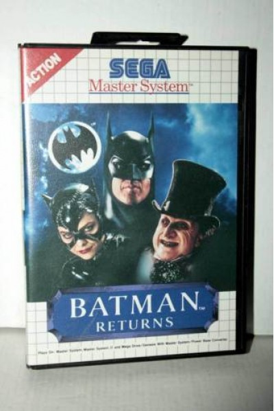 SEGA MASTER SYSTEM BATMAN RETURNS VERSIONE PAL SENZA MANUALE