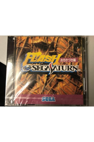 SEGA SATURN FLASH NTSC JAP JPN IMPORT  NUOVO SIGILLATO