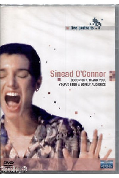 SINEAD O'CONNOR GOODNIGHT,THANK YOU.. DVD NUOVO SIGILLATO