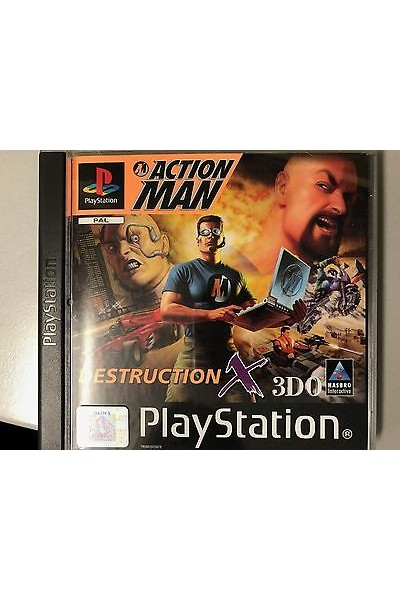 SONY PLAYSTATION 1 PS1 ACTION MAN X 3DO PAL ITALIANO COMPLETO