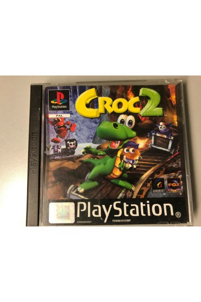 SONY PLAYSTATION 1 PS1 CROC 2 VERSIONE PAL SENZA MANUALE