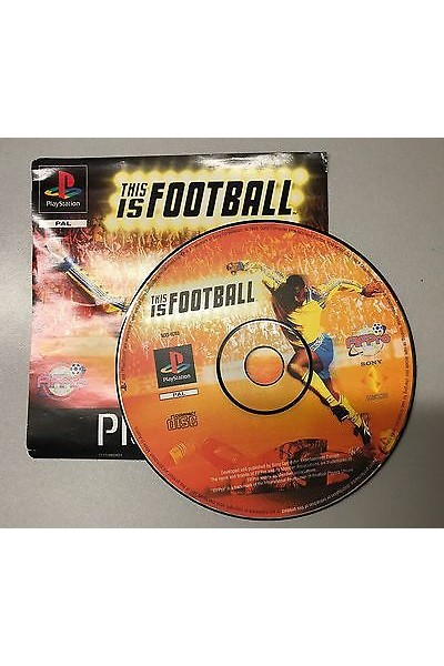 SONY PLAYSTATION 1 PS1 THIS IS FOOTBALL PAL SOLO DISCO E FRONTECOPERTINA