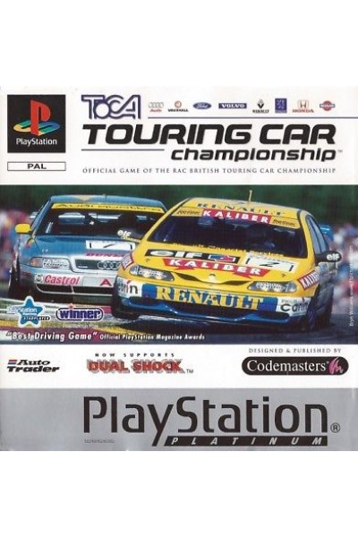 SONY PLAYSTATION 1 PS1 TOCA TOURING CAR CHAMPIONHIPS VERSIONE PAL ITA COMPLETO