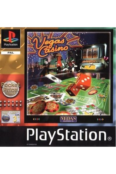 SONY PLAYSTATION 1 PS1 VEGAS CASINO VERSIONE PAL COMPLETO