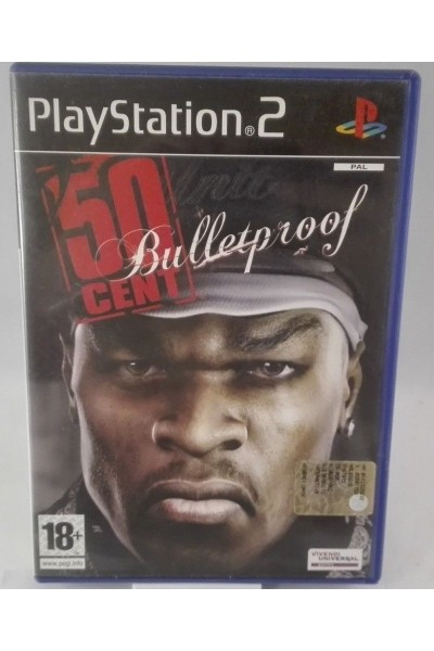SONY PLAYSTATION 2 50 CENT BULLETPROOF PAL ITALIANO COMPLETO