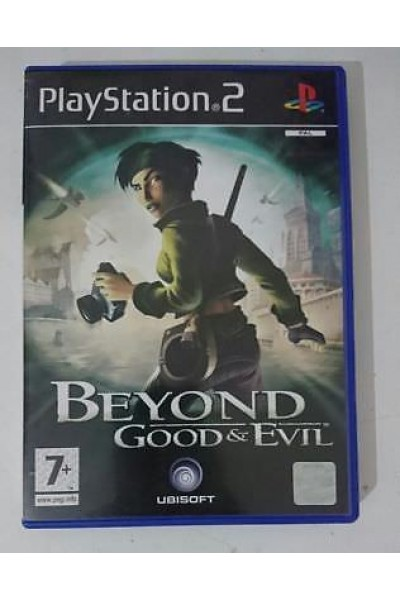SONY PLAYSTATION 2 PS2 BEYOND GOOD E EVIL PAL ITALIANO COMPLETO
