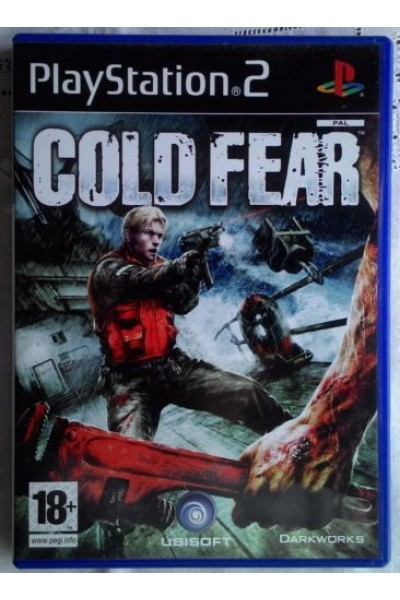 SONY PLAYSTATION 2 PS2 COLD FEAR VERSIONE PAL SENZA MANUALE