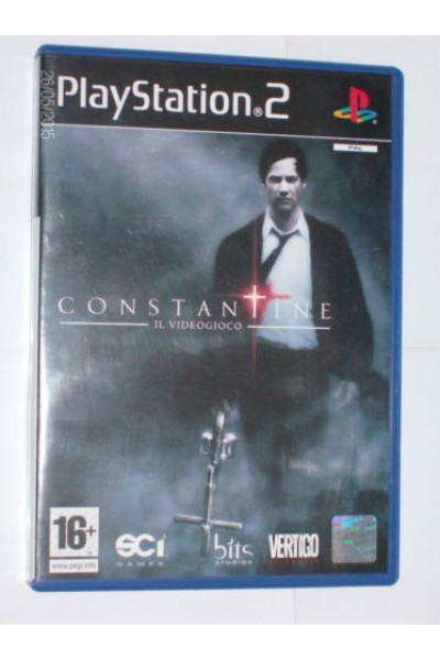 SONY PLAYSTATION 2 PS2 CONSTANTINE THE VIDEOGAME PAL UK COMPLETO