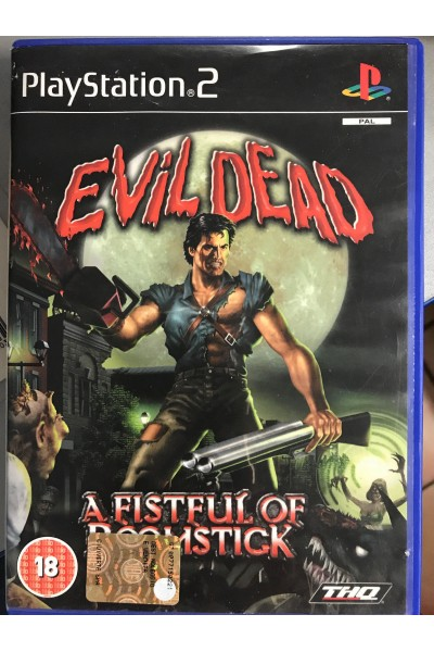 SONY PLAYSTATION 2 PS2 EVIL DEAD A FISTFUL OF BOOMSTICK PAL SENZA MANUALE