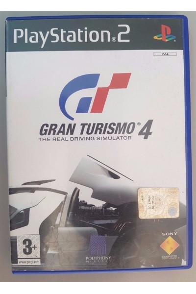 SONY PLAYSTATION 2 PS2 GRAN TURISMO 4 PAL ITALIANO COMPLETO