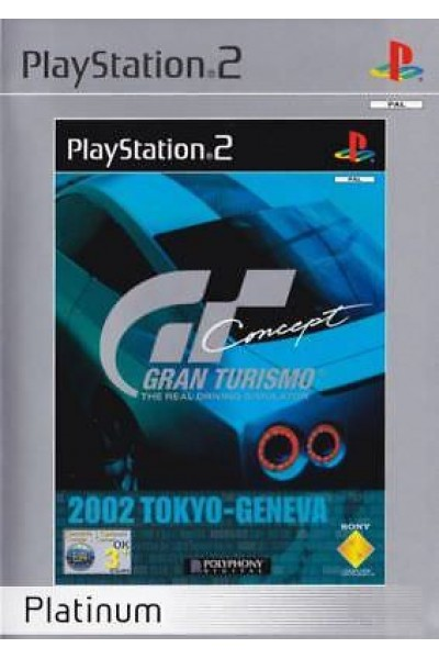 SONY PLAYSTATION 2 PS2 GRAN TURISMO CONCEPT PAL ITALIANO COMPLETO