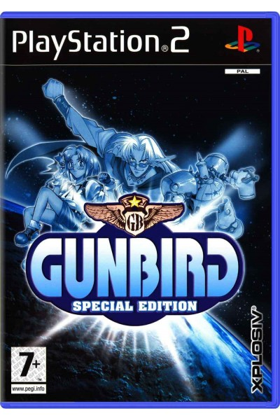 SONY PLAYSTATION 2 PS2 GUNBIRD SPECIAL EDITION PAL ITALIANO COMPLETO