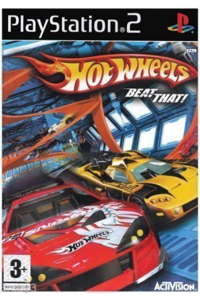SONY PLAYSTATION 2 PS2 HOT WHEELS HOTWHEELS BEAT THAT PAL ITALIANO COMPLETO