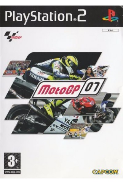 SONY PLAYSTATION 2 PS2 MOTO GP 07 PAL ITALIANO COMPLETO