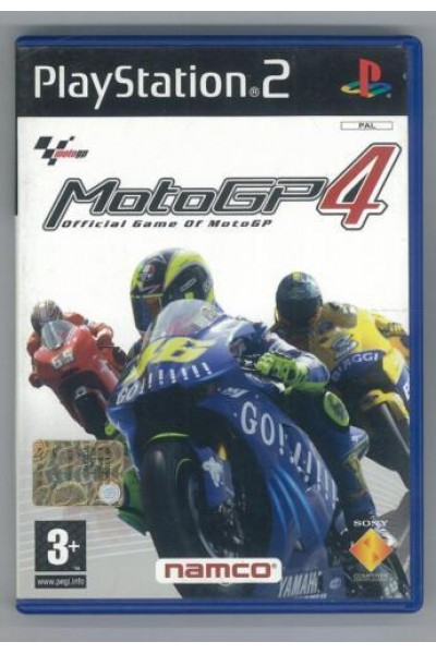 SONY PLAYSTATION 2 PS2 MOTO GP 4 PAL ITALIANO COMPLETO