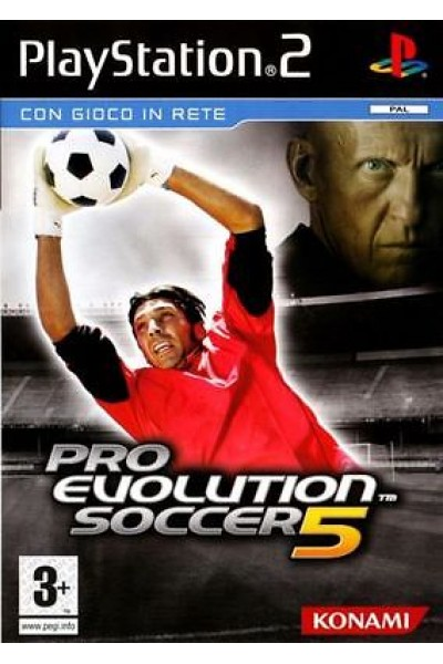 SONY PLAYSTATION 2 PS2 PRO EVOLUTION SOCCER PES 5 PAL ITALIANO COMPLETO