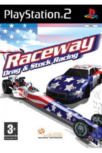 SONY PLAYSTATION 2 PS2 RACEWAY DRAG E STOCK RACING PAL ITALIANO COMPLETO