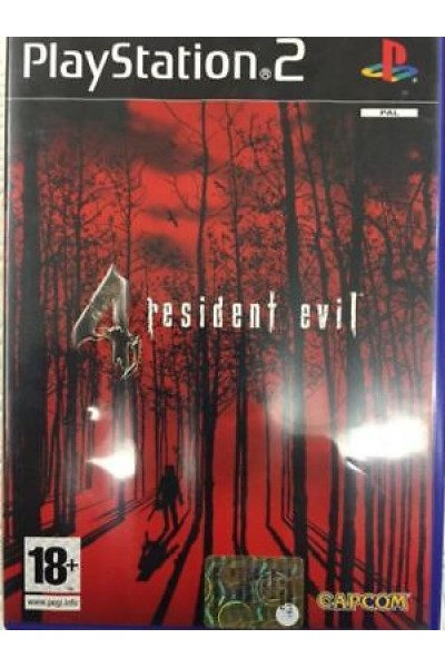 SONY PLAYSTATION 2 PS2 RESIDENT EVIL 4 PAL ITALIANO COMPLETO