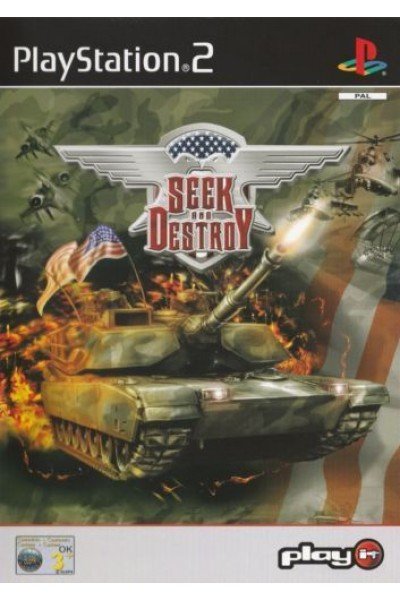 SONY PLAYSTATION 2 PS2 SEEK AND DESTROY PAL ITALIANO COMPLETO