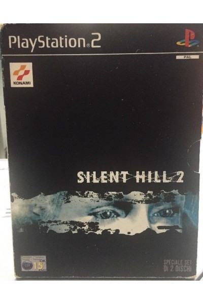 SONY PLAYSTATION 2 PS2 SILENT HILL 2 SPECIALE SET 2 DISCHI PAL ITALIANO COMPLETO