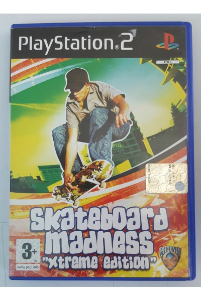 SONY PLAYSTATION 2 PS2 SKATEBOARD MADNESS XTREME EDITION PAL ITALIANO COMPLETO
