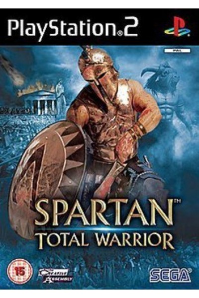 SONY PLAYSTATION 2 PS2 SPARTAN TOTAL WARRIOR PAL UK COMPLETO