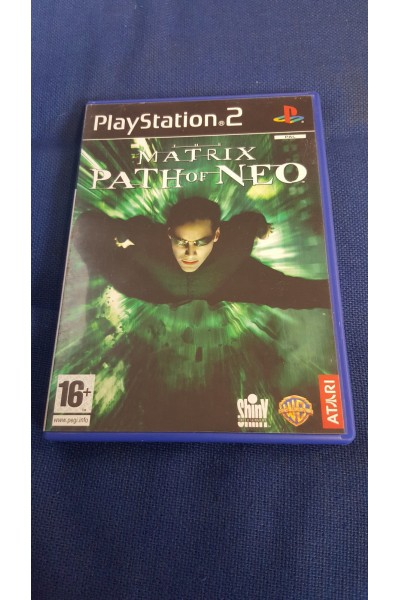 SONY PLAYSTATION 2 PS2 THE MATRIX PATH OF NEO PAL ITALIANO COMPLETO