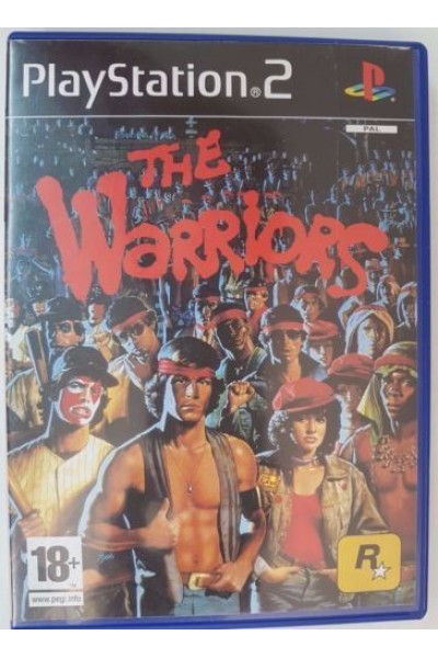 SONY PLAYSTATION 2 PS2 THE WARRIORS PAL ITALIANO COMPLETO