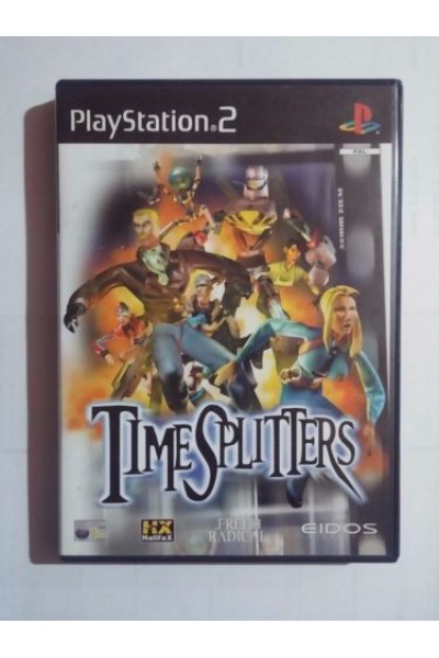 SONY PLAYSTATION 2 PS2 TIME SPLITTERS PAL FRANCESE COMPLETO
