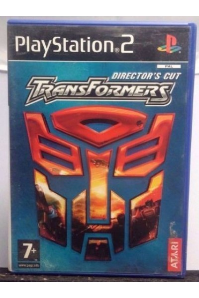 SONY PLAYSTATION 2 PS2 TRANSFORMERS DIRECTOR'S CUT PAL ITALIANO COMPLETO