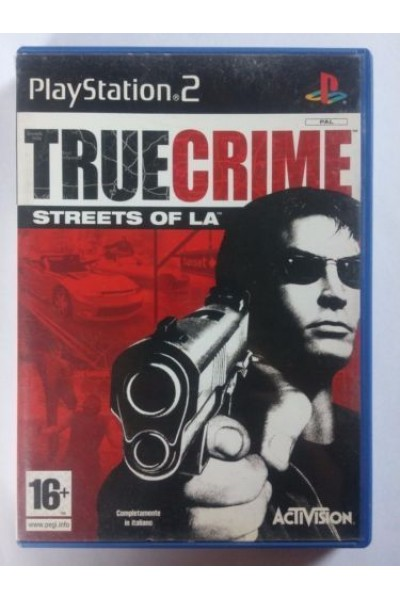 SONY PLAYSTATION 2 PS2 TRUE CRIME PAL ITALIANO COMPLETO