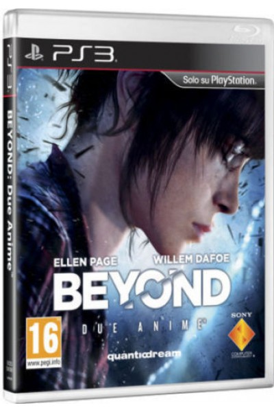 SONY PLAYSTATION 3 PS3 BEYOND DUE ANIME PAL ITALIANO COMPLETO