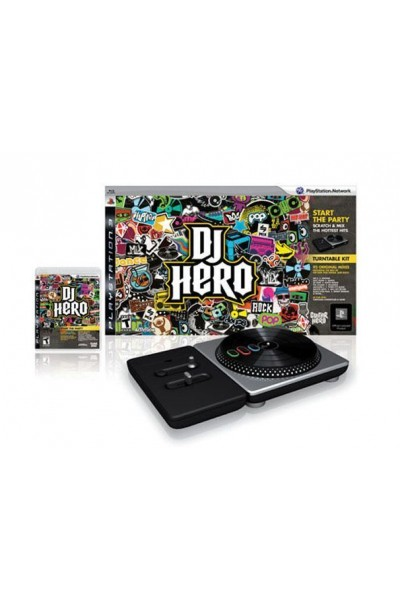 SONY PLAYSTATION 3 PS3 DJ HERO BUNDLE COMPLETO DI CONSOLE