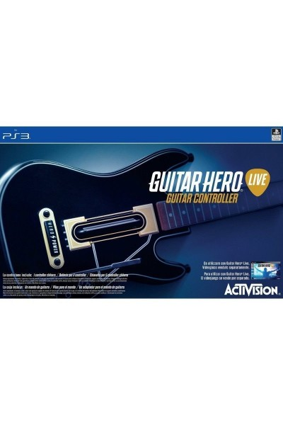 SONY PLAYSTATION 3 PS3 GUITAR HERO LIVE CON CHITARRA NUOVO @G