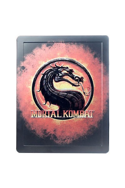 SONY PLAYSTATION 3 PS3 MORTAL KOMBAT + STEELBOOK PAL COMPLETO