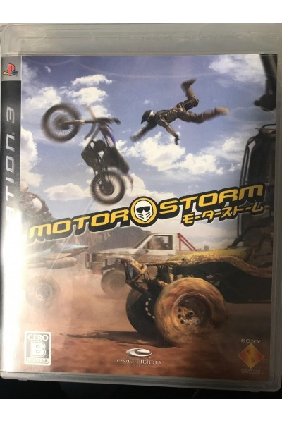 SONY PLAYSTATION 3 PS3 MOTORSTORM VERSIONE GIAPPONESE COMPLETO