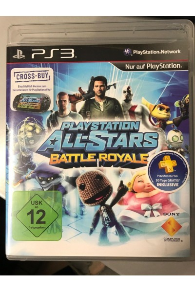SONY PLAYSTATION 3 PS3 PLAYSTATION ALL STARS BATTLE ROYALE PAL COMPLETO