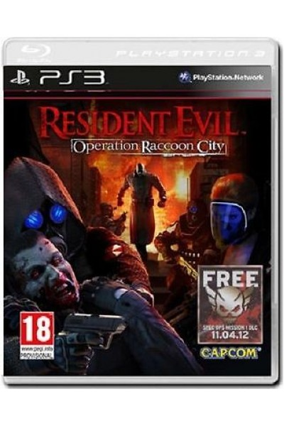 SONY PLAYSTATION 3 PS3 RESIDENT EVIL OPERATION RACCOON CITY PAL ITA COMPLETO