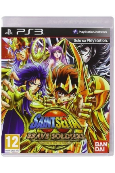 SONY PLAYSTATION 3 PS3 SAINT SEIYA BRAVE SOLDIERS PAL ITALIANO COMPLETO