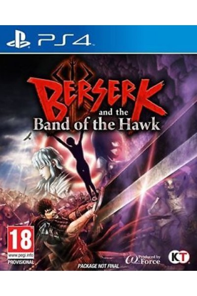 SONY PLAYSTATION 4 PS4 BERSERK AND THE BAND OF THE HAWK PAL ITALIANO COMPLETO