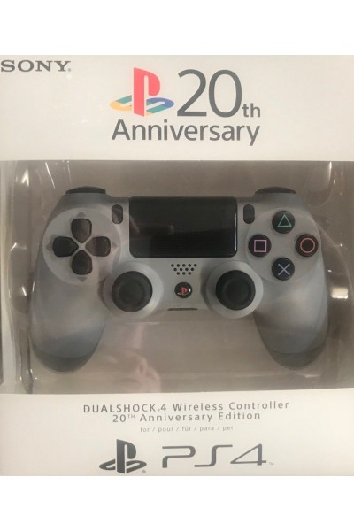 SONY PLAYSTATION 4 PS4 DUALSHOCK 4 20TH ANNIVERSARY COMPLETO