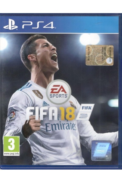 SONY PLAYSTATION 4 PS4 FIFA 18 PAL ITALIANO